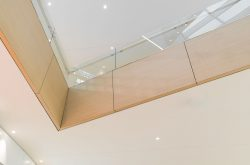 Stratificato HPL Compact laminate at Elnòs Shopping centre